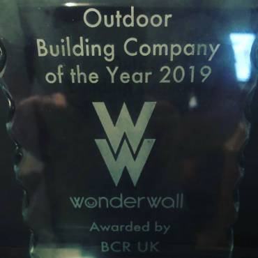 Award Winning – Outdoor Building Company of the Year 2019